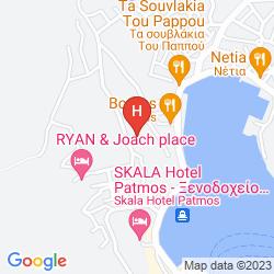 Mapa BYZANCE HOTEL & APARTMENTS