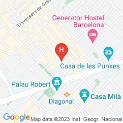 Mapa AA CITY APARTMENTS