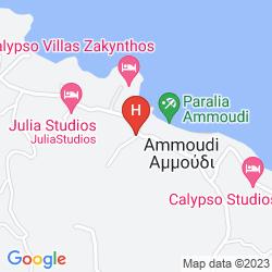 Mapa AMOUDI HOTEL - APARTMENTS