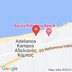 Mapa ADELE BEACH