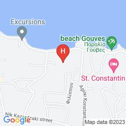 Mapa GOUVES BAY