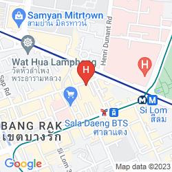 Mapa WALL STREET INN
