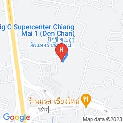 Mapa THE DHARA DHEVI CHIANG MAI