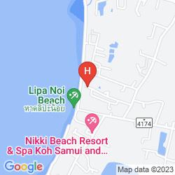 Mapa KANOK BURI RESORT