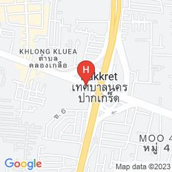 Mapa XEN SUITES BANGKOK