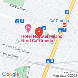 Mapa IBIS CA' GRANDA