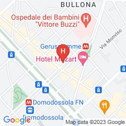 Mapa CITYLIFE HOTEL POLIZIANO MILANO