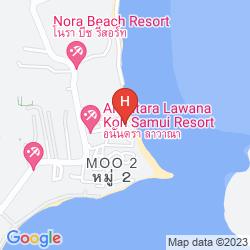 Mapa VILLA LAWANA