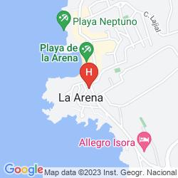 Mapa LANDMAR COSTA LOS GIGANTES