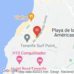 Mapa H10 LAS PALMERAS