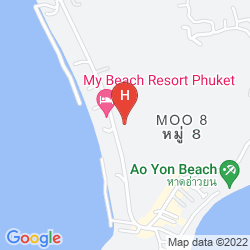 Mapa PANWA BOUTIQUE BEACH RESORT