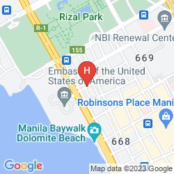 Mapa BAYVIEW PARK