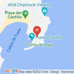 Mapa BARCELÓ CASTILLO CLUB PREMIUM