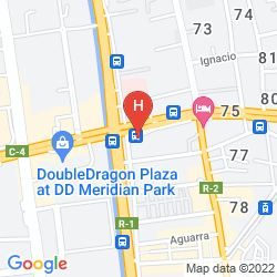 Mapa THE HERITAGE HOTEL MANILA