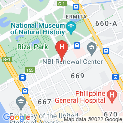 Mapa WATERFRONT PAVILION HOTEL AND CASINO MANILA