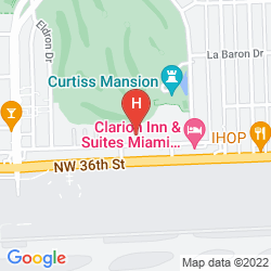 Mapa SLEEP INN MIAMI AIRPORT