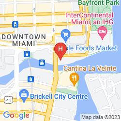 Mapa EPIC MIAMI, A KIMPTON