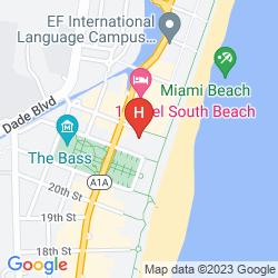 Mapa W SOUTH BEACH