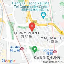 Mapa EVERGREEN