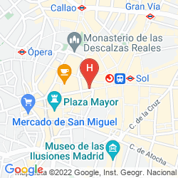 Mapa PETIT PALACE MAYOR