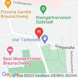 Mapa VIENNA HOUSE EASY BRAUNSCHWEIG