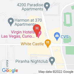 Mapa VIRGIN HOTELS LAS VEGAS, CURIO COLLECTION BY HILTON