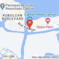 Mapa BE LIVE PALM BEACH