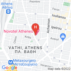 Mapa NOVOTEL ATHENES