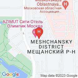 Mapa AZIMUT MOSCOW OLYMPIC