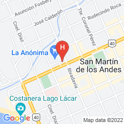 Mapa LOI SUITES CHAPELCO GOLF & RESORT HOTEL