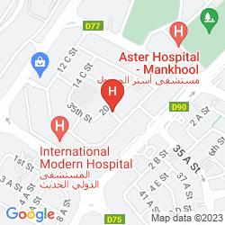 Mapa ABC ARABIAN SUITES