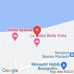 Mapa HELYA BEACH