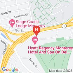 Mapa HYATT REGENCY