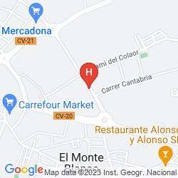 Mapa HOLIDAY INN EXPRESS ONDA PROVINCIA DE CASTELLON