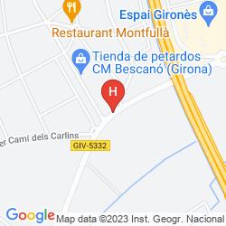 Mapa B&B HOTEL GIRONA