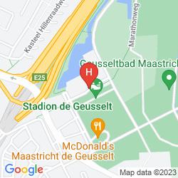 Mapa SELECT HOTEL APPLE PARK MAASTRICHT