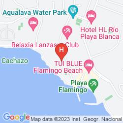 Mapa H10 TIMANFAYA PALACE