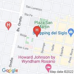 Mapa ALTEA HOTEL DE ROSARIO