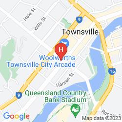 Mapa PLAZA HOTEL TOWNSVILLE