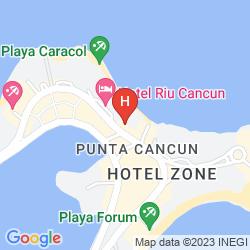 Mapa BE LIVE GRAND VIVA BEACH
