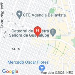 Mapa HILTON GARDEN INN CIUDAD JUAREZ