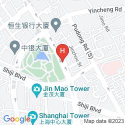 Mapa GRAND KEMPINSKI HOTEL SHANGHAI