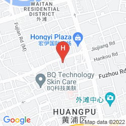 Mapa HOLIDAY INN EXPRESS ZHABEI SHANGHAI