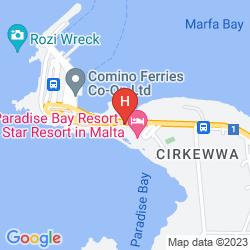 Mapa PARADISE BAY RESORT