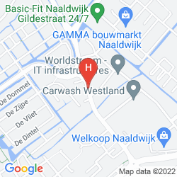 Mapa FLETCHER HOTEL CARLTON