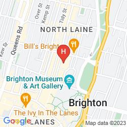 Mapa MYHOTEL BRIGHTON
