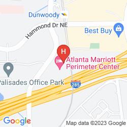 Mapa ATLANTA MARRIOTT PERIMETER CENTER
