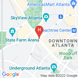 Mapa GLENN HOTEL, AUTOGRAPH COLLECTION