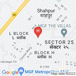 Mapa HOTEL 33