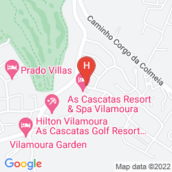 Mapa AS CASCATAS GOLF RESIORT & SPA